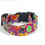Multi-color Flower  Dog Pet Collar