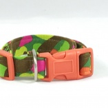 Jungle Camouflage Dog Pet Collar
