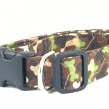 Bone Camouflage Dog Pet Collar