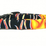 Hot Rod Flames Dog Pet Collar