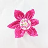 Assorted Pink Pet Collar Flowers