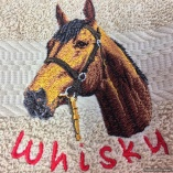 Personalized Horse Breed Hand Towels