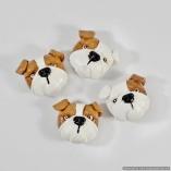 English Bulldog Dog Breed Magnet Gift Set – Set of 4