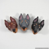 Doberman Dog Breed Magnets Gift – Set of 3