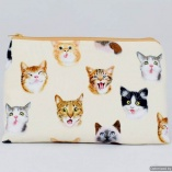 Cat Selfies Toiletry Travel Bag Gift for Cat Lovers