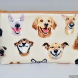 Dog Selfies Toiletry Travel Bag Gift for Dog Lovers