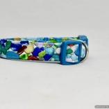 Sea Glass Theme Dog Pet Collar